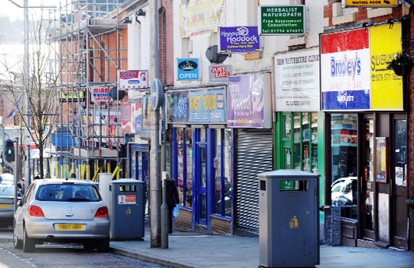 Darwen Street takeaways say they suffered during a parking crackdown