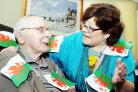 A Welsh Day was held at Dove Court in Burnley