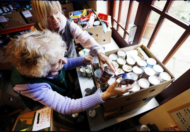 East Lancs charities join in call to end food poverty