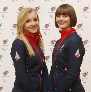 Millie Knight, right, will carry the flag for Great Britain during Friday's opening ceremony for the 2014 Sochi Winter Paralympics
