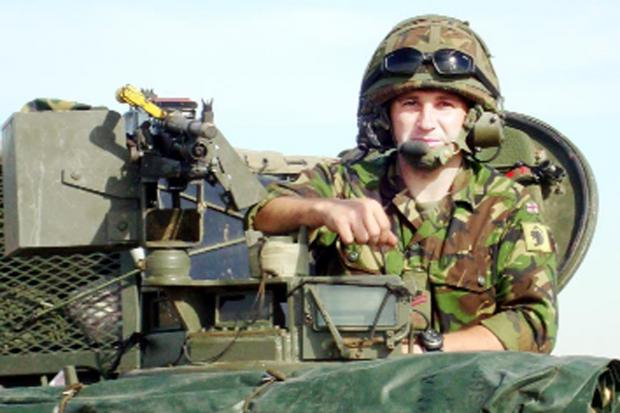 Lancashire Telegraph: On patrol in Afghanistan