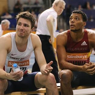 Andy Pozzi and William Sharman reached the 60m hurdles semi-finals in Sopot