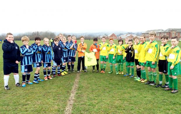 Young players in the East Lancashire Football Alliance got the chance to play the game in quiet as part of the Lancashire FA Silent Weekend initiative