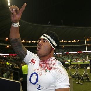 England's Manu Tuilagi has been named on the bench