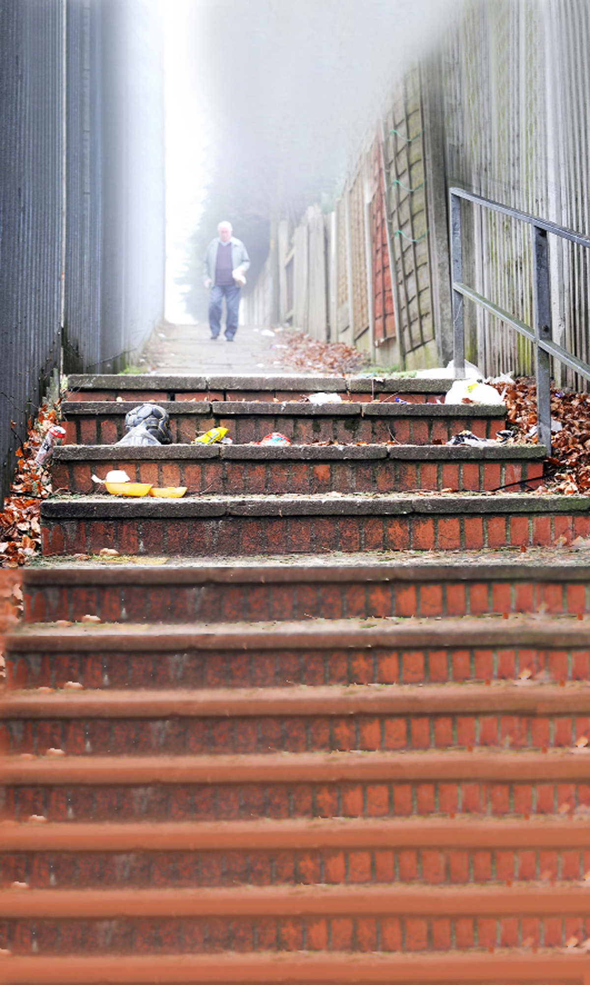 Blackburn resident clears mass of rubbish after losing patience with council