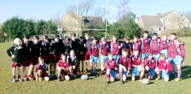 Pupils who took part in the year seven rugby tournament which was held at Burnley Rugby Club recently