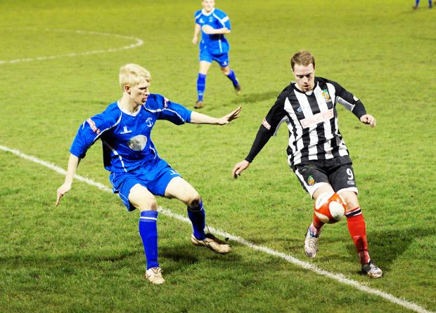Padiham slipped to defeat at Kendal Picture: RICHARD EDMONDSON