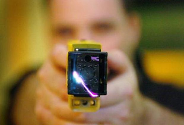 Terror as masked robbers raid farmhouse with taser