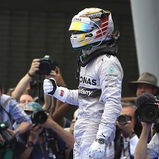 Lewis Hamilton described his win in Malaysia as 'fantastic' (AP)