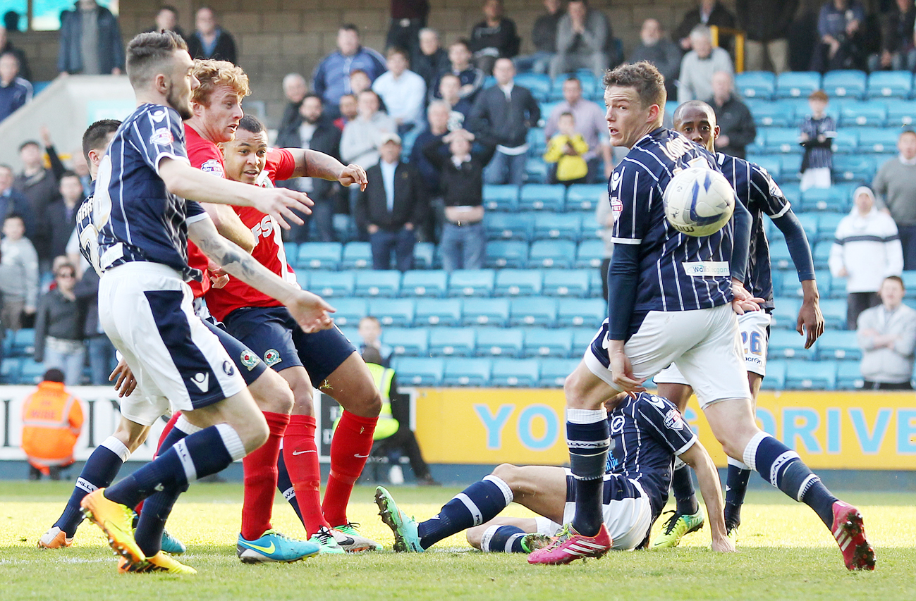 Josh King scores Rovers leveller at Millwall
