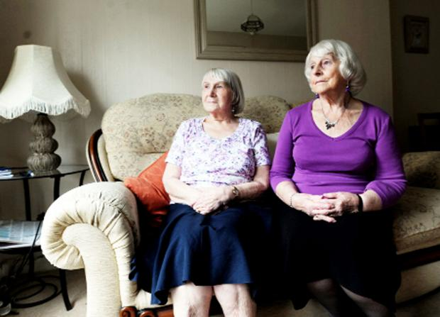 Lancashire Telegraph: Helen Houghton and Jean Campbell-Jones, of  Hornby Court