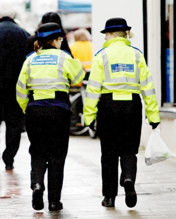 East Lancs volunteer police out in force