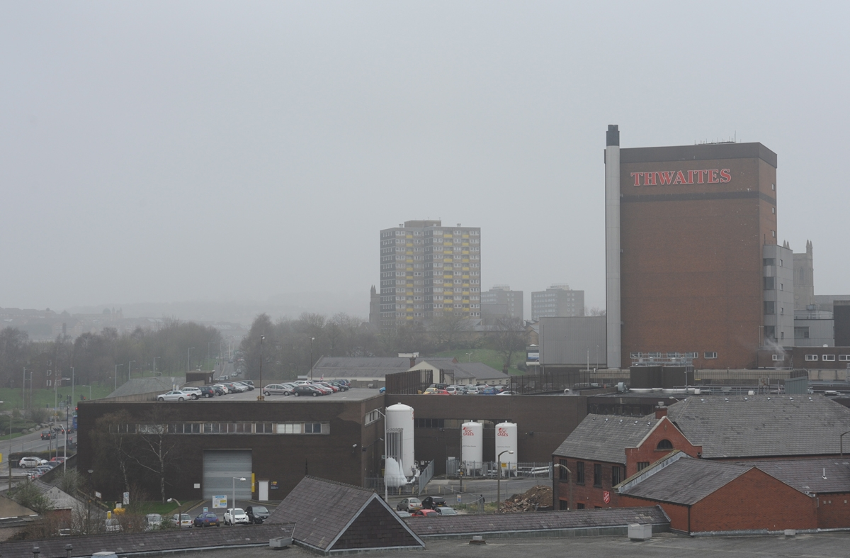 Mist over Blackburn