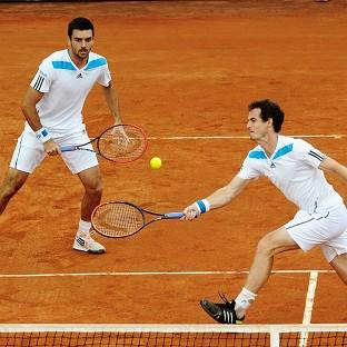 Andy Murray, right, and Colin Fleminggot the better