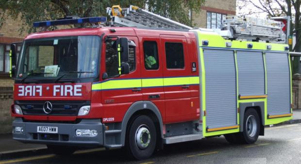 Arsonists blamed for blaze at barn near Edenfield