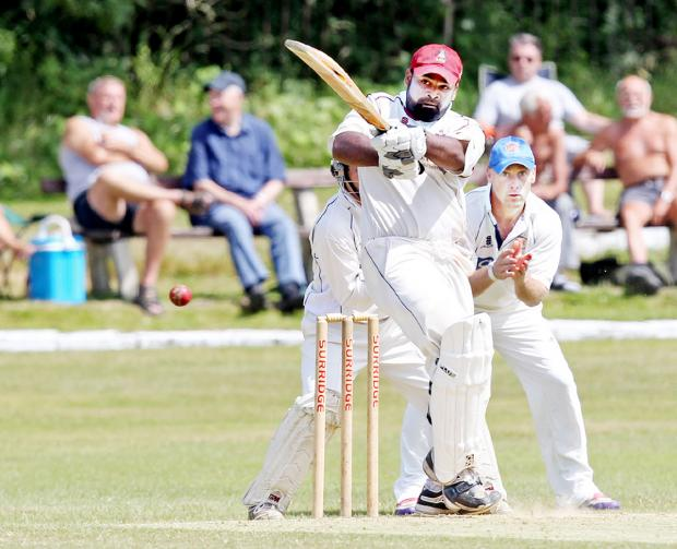 Ashar Zaidi is sub-pro for Haslingden on the opening day