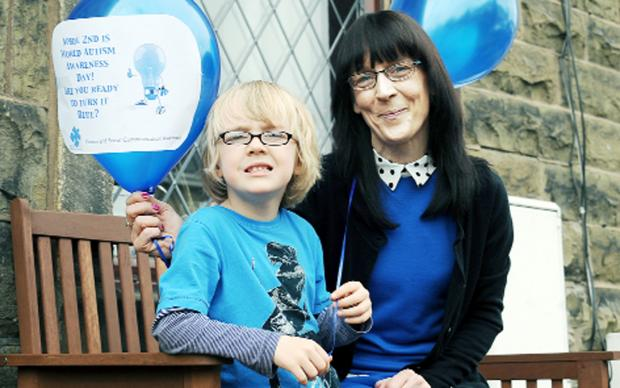 Clitheroe mum joy at support for autistic campaign