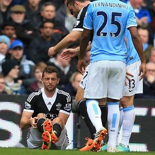 Jay Rodriguez sustained the season-ending injury at Manchester City on Saturday