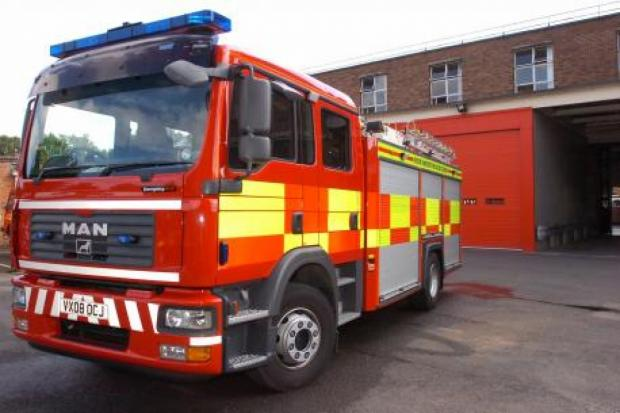 Firefighters tackling blaze at Helmshore factory