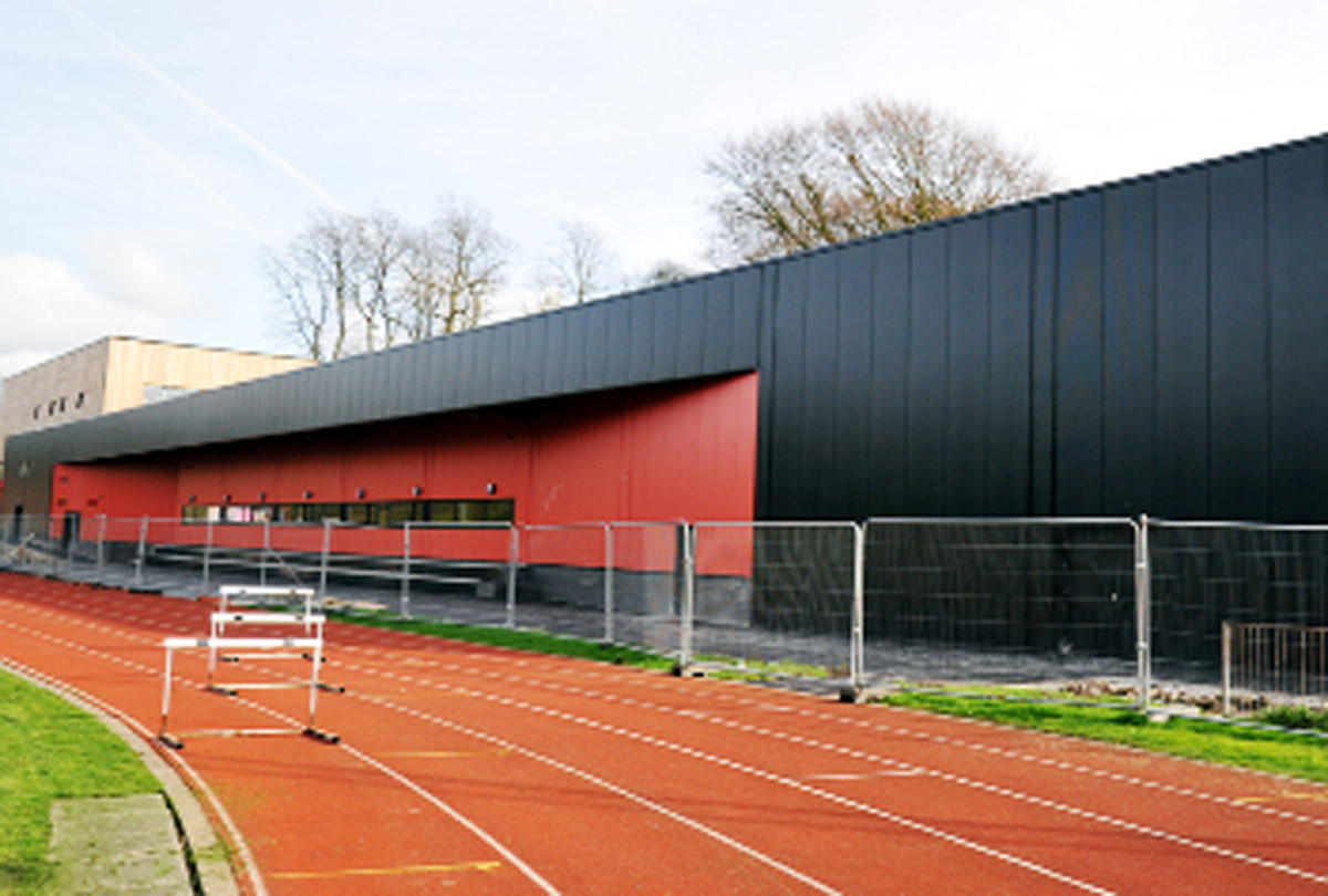 The new Witton Park Arena