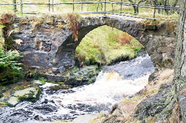 Lumb bridge, near Edenfield, is one that will be repaired