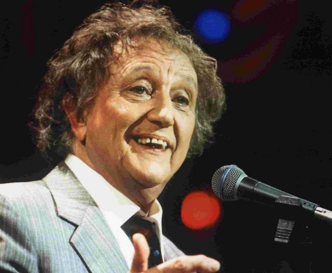 Tickle tonic on menu for Ken Dodd
