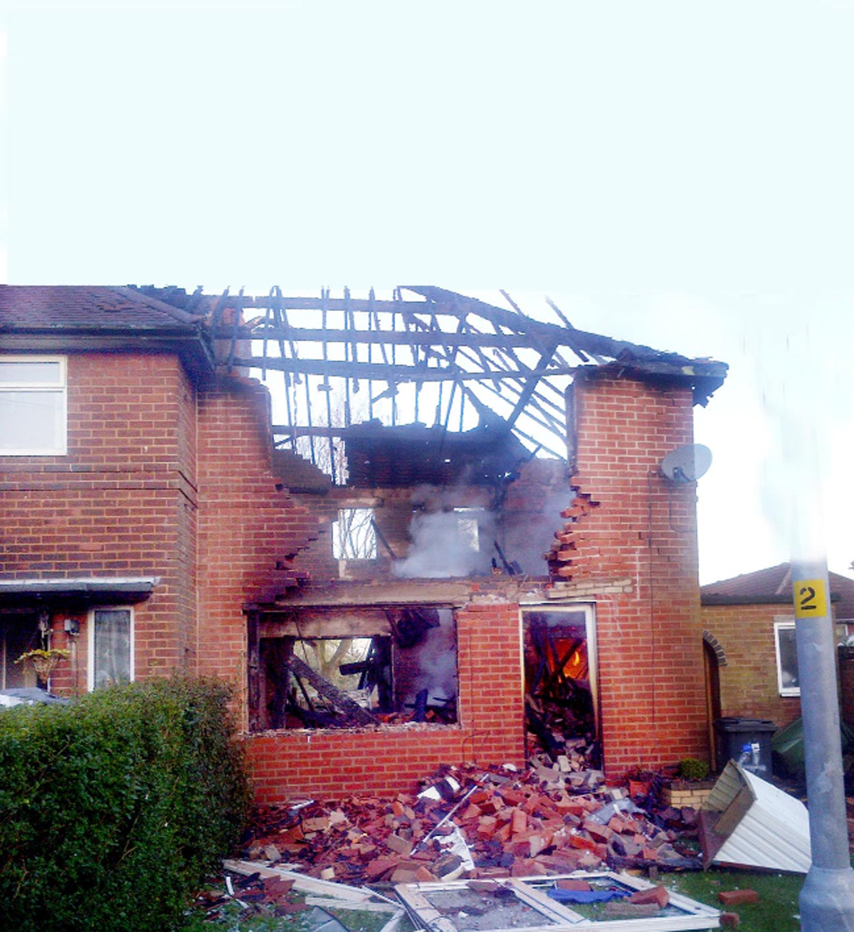 UPDATE: East Lancs house blown to pieces in explosion
