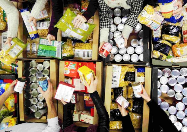 There has been growing demand for help from foodbanks locally