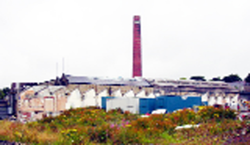 The derelict Glen Mill, in North Valley Road, which is to be knocked down to make way for the new store and pub