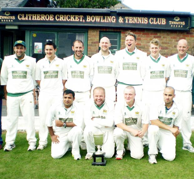 Clitheroe won the title last year