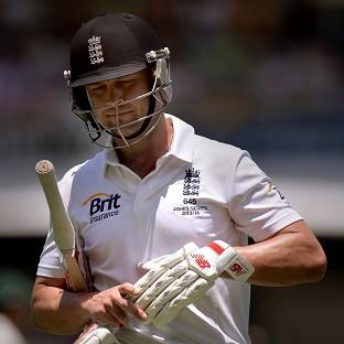 Jonathan Trott has only just returned to cricket with Warwickshire