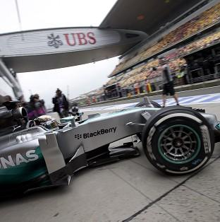 Lewis Hamilton had expressed concern about his car (A