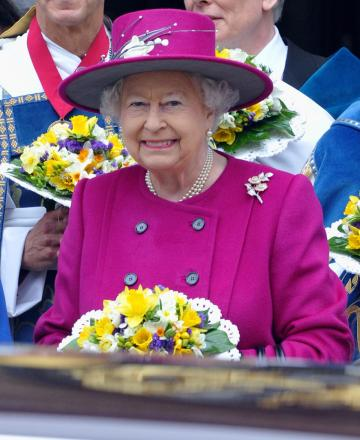 HRH Queen Elizabeth II visits Blackburn Cathedral for Maundy service