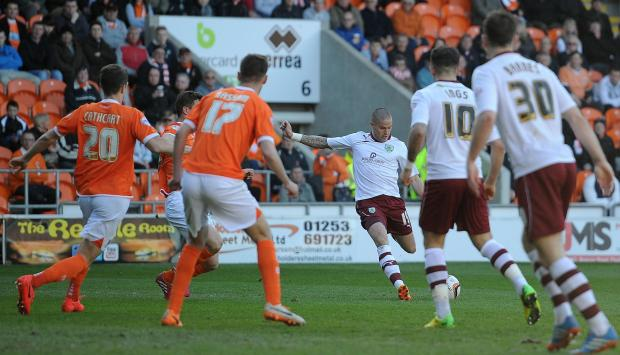Lancashire Telegraph: FULL TIME: Blackpool 0-1 Burnley