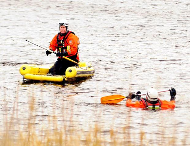 Firefighters take part in aquatic training in Hoddlesden