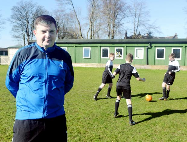 Lancashire Telegraph: Charlie Jackson oversees another session in Clitheroe