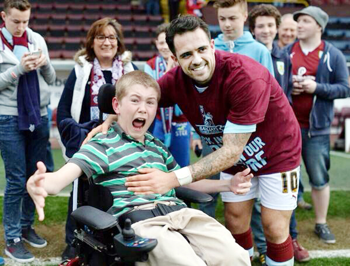 Teenager meets hero Ings again as Burnley promoted to Premier League