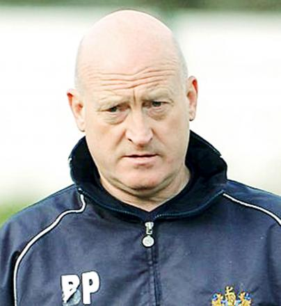 Bacup and Rossendale Borough boss Brent Peters goes to Colne