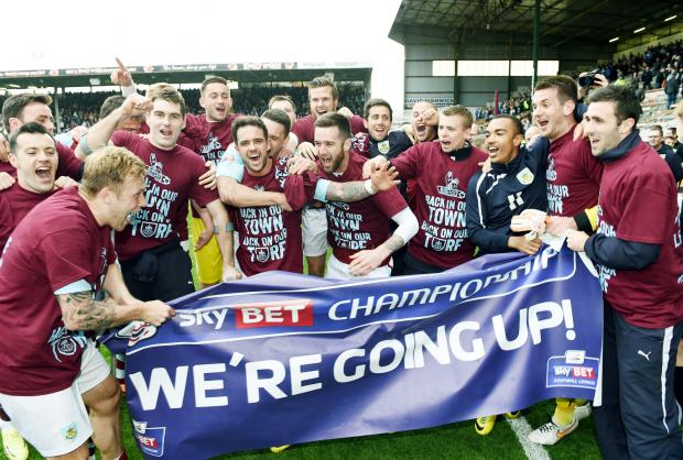 The Clarets are looking to finish a memorable season in style