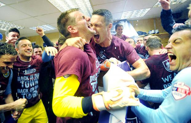 SUZANNE GELDARD looks back at an historic season for the Clarets