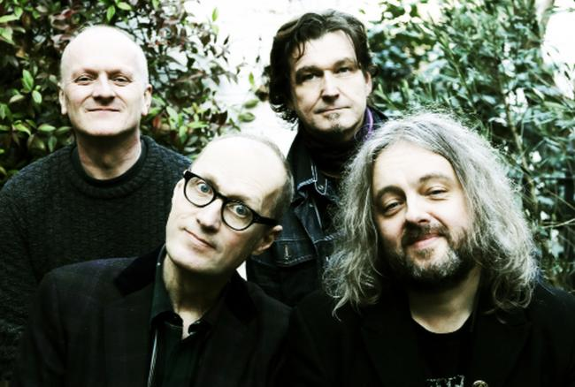 Ade Edmondson (front left) with the Bad Shepherds