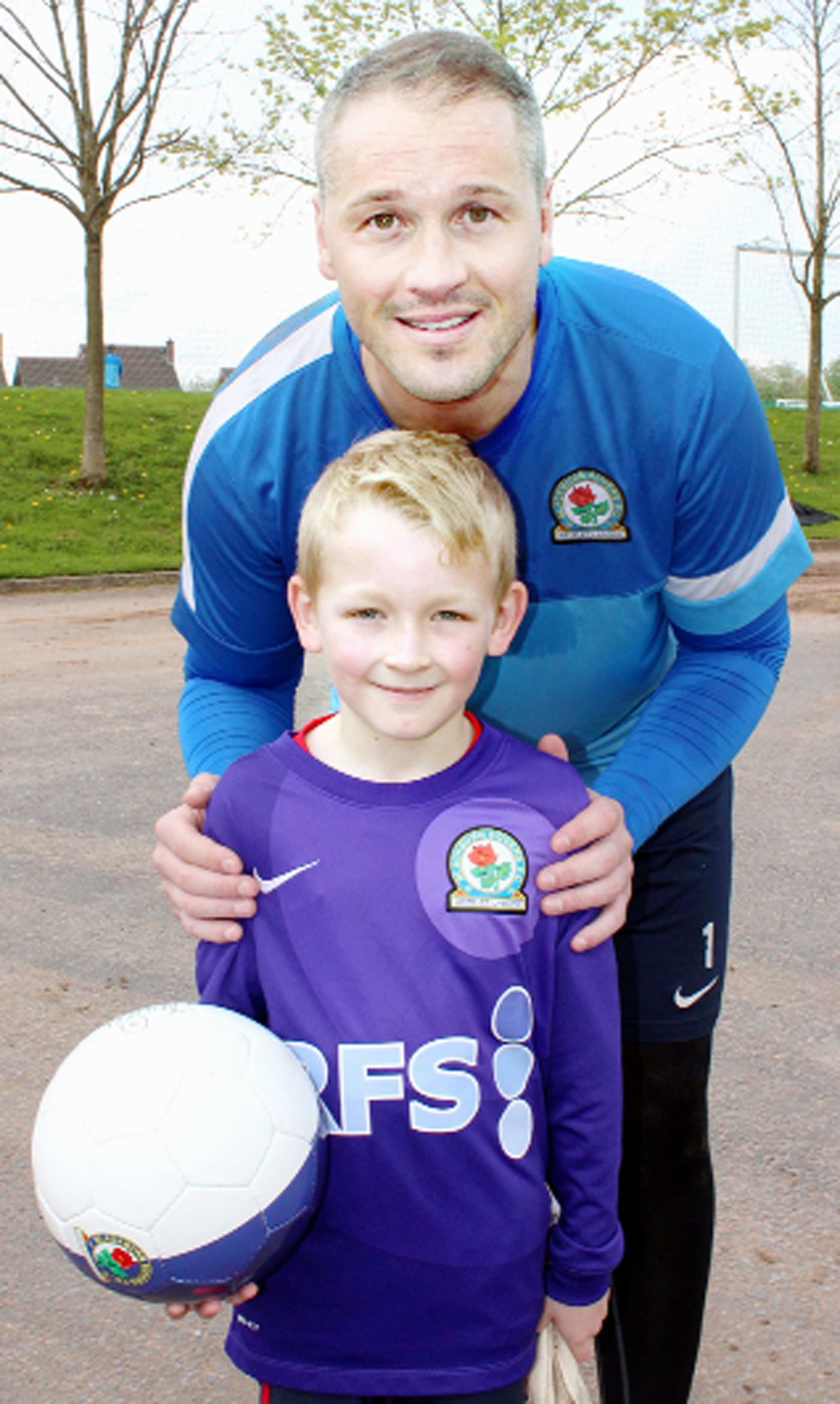 Young diabetic is given VIP treatment by Rovers stars