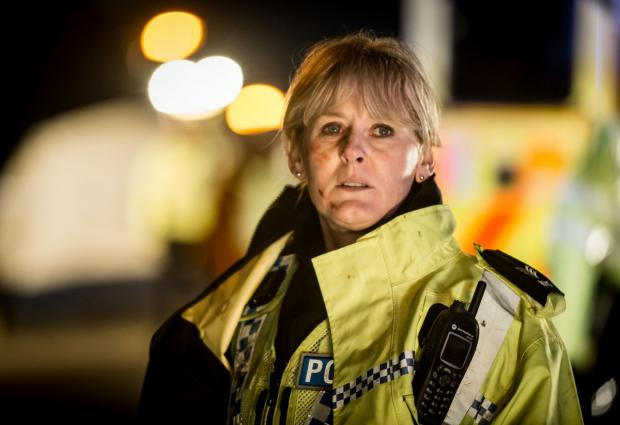 Actress Sarah Lancashire who stars in Happy Valley