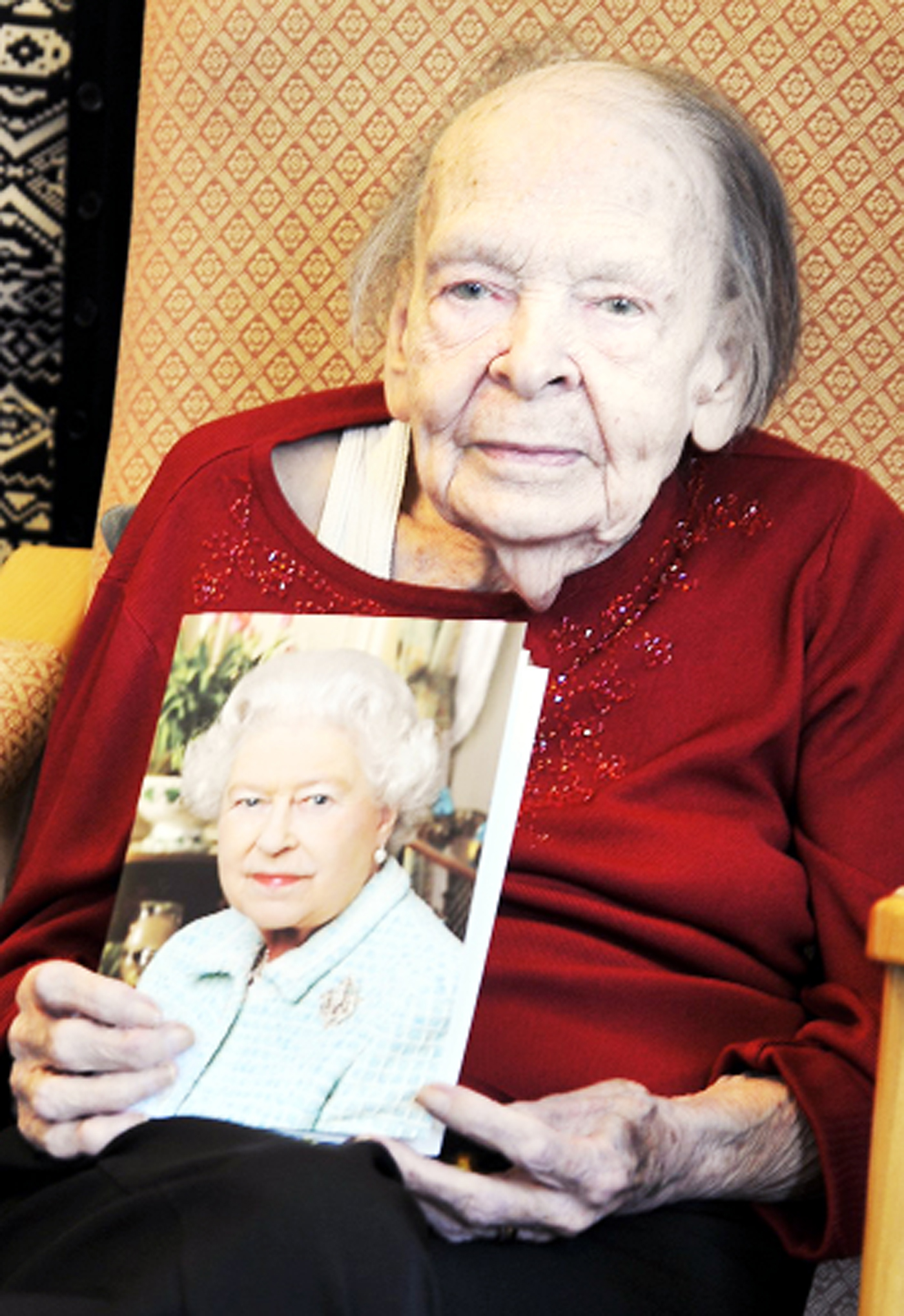 Nelson birthday girl Rita, 100, has a right royal time of it!