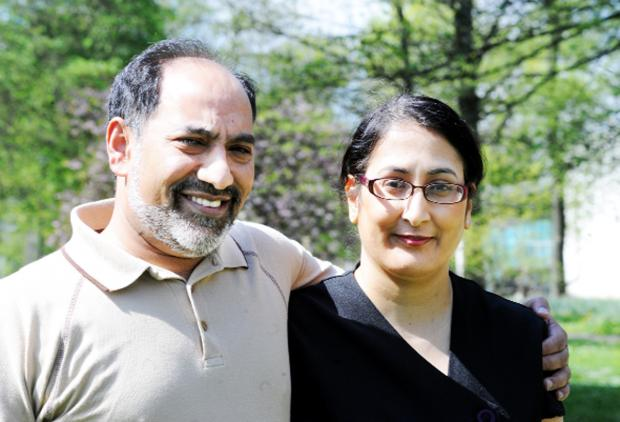 Shahabuddin Solkar and his wife Shamin were shocked to find no Asian women on Blackburn with Darwen Council