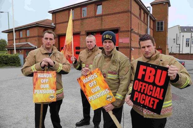 East Lancashire firefighters warn of further strike action