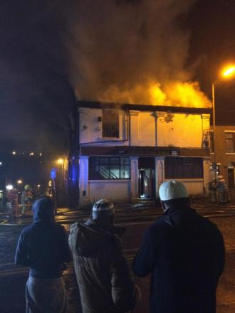 Blackburn club damaged by fire