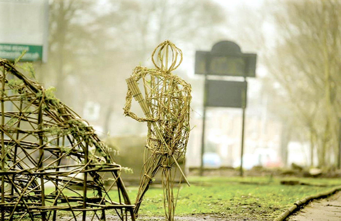 First World War wicker man theft from Whitworth sparks anger