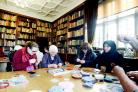 Rabia's Suffolk Puff workshop in old library is sew much fun!