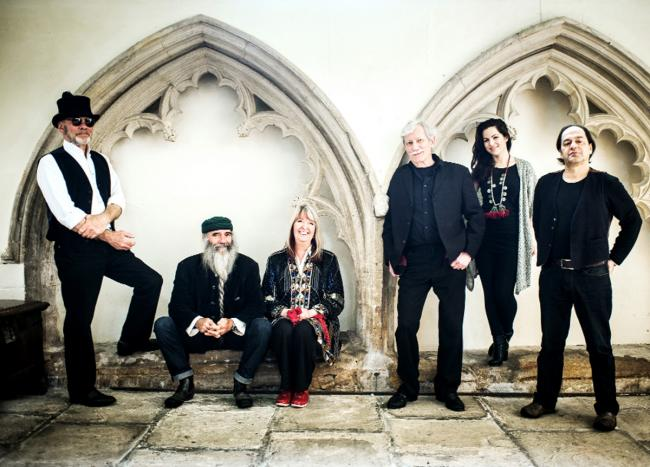 The latest line-up of Steeleye Span